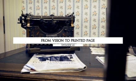 From Vision To The Printed Page
